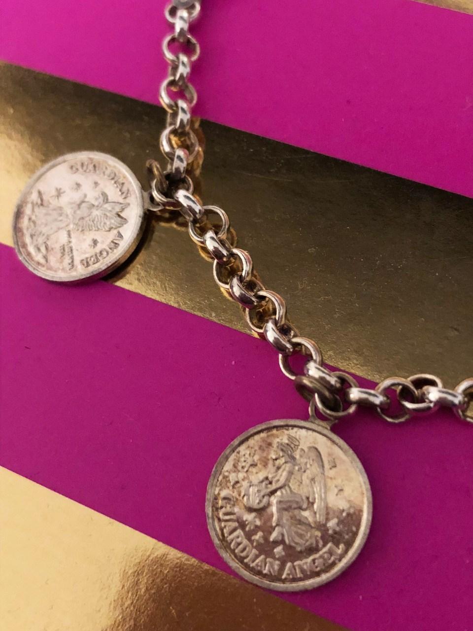 Angel Coin Charm Bracelet 2