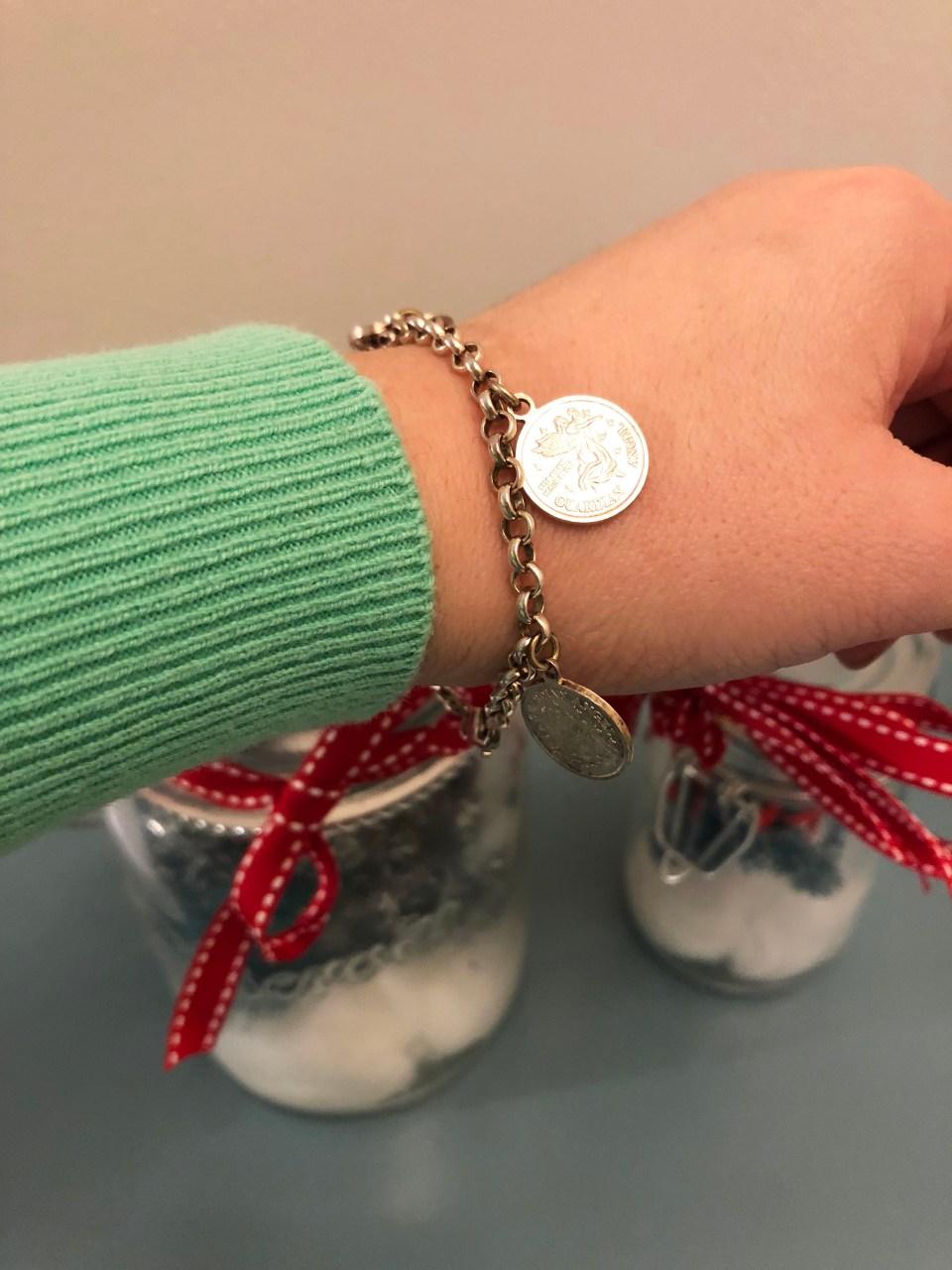 Angel Coin Charm Bracelet 4