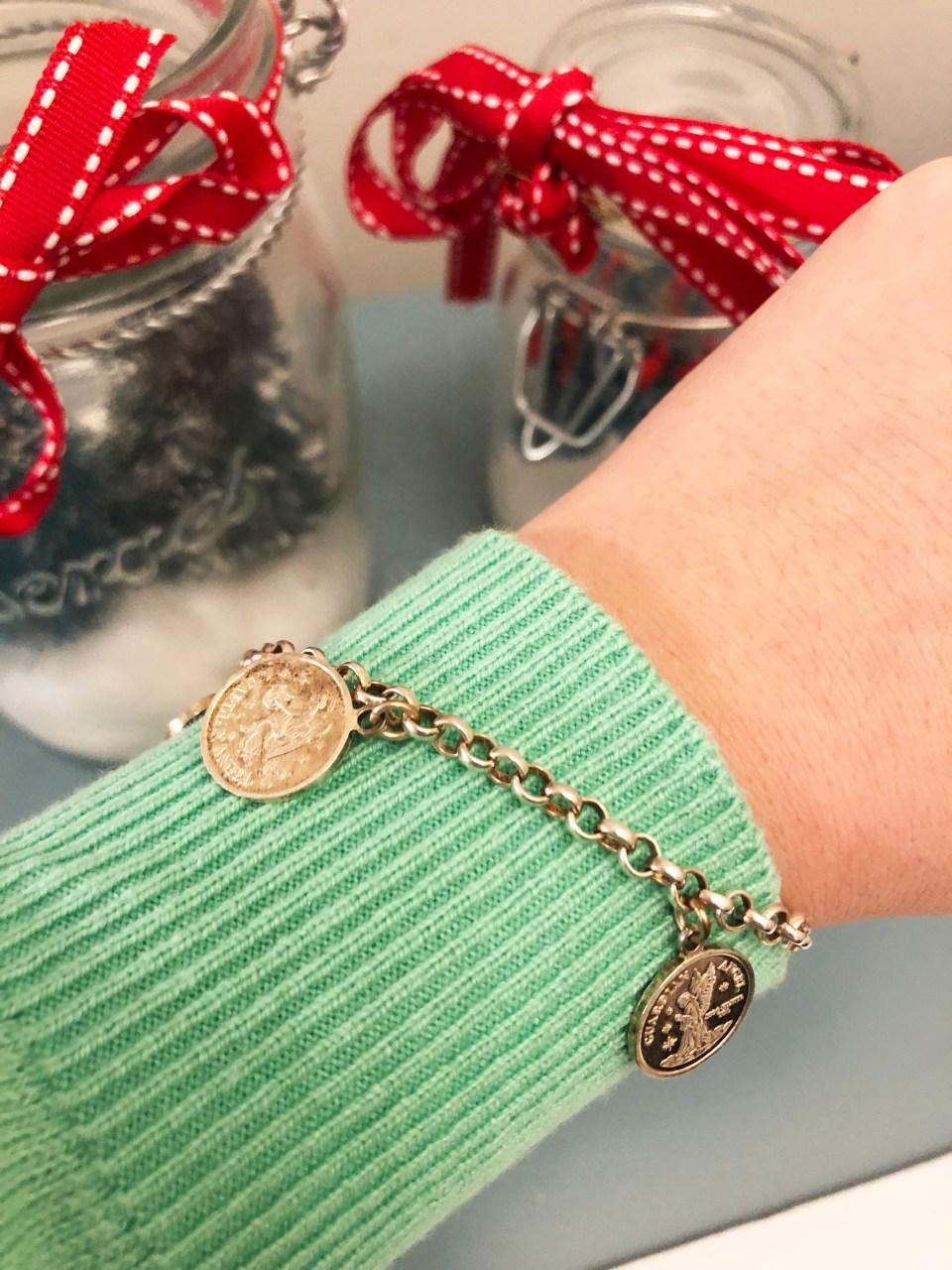 Angel Coin Charm Bracelet 5