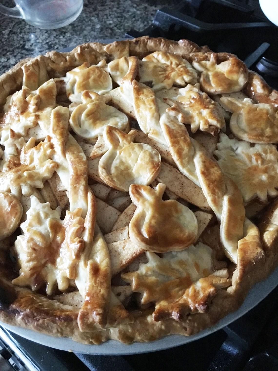 Apple Pie - Cutouts & Braided Lattice
