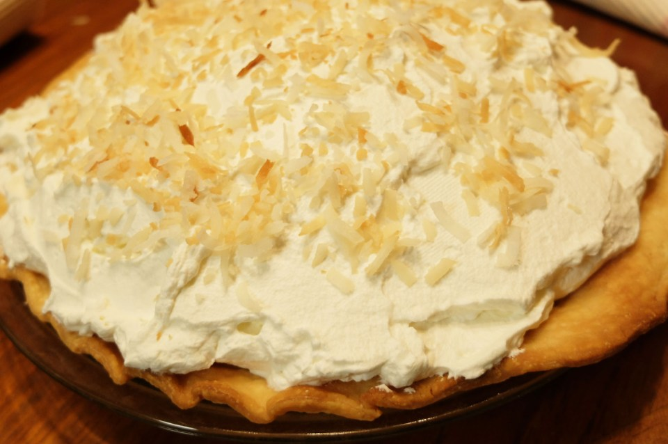 Coconut Cream Pie 1