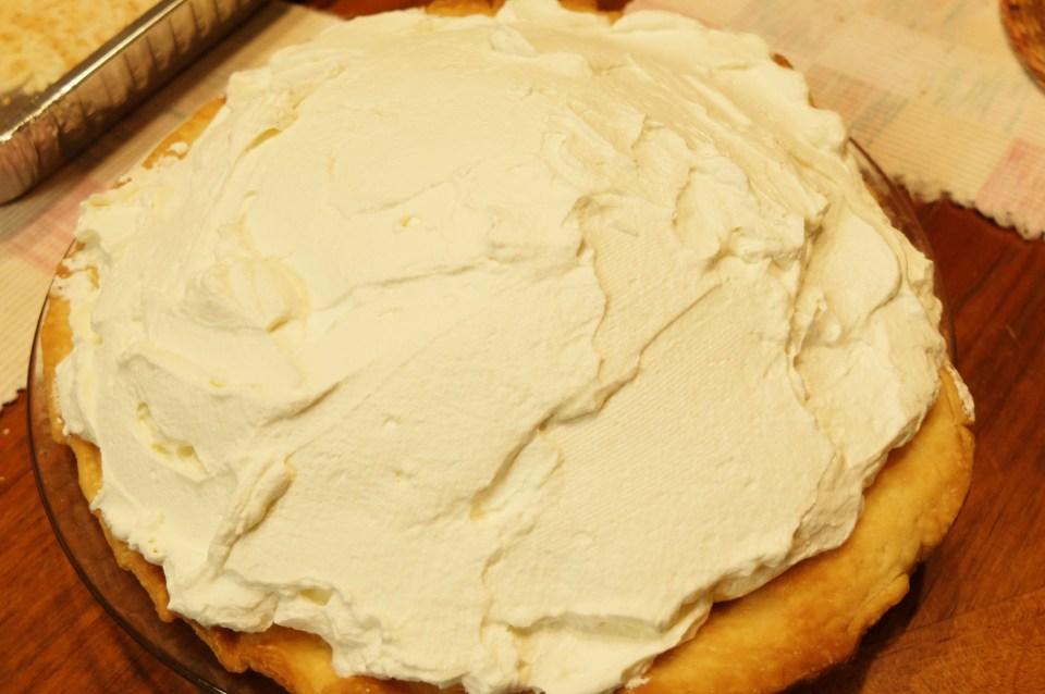 Coconut Cream Pie - topping 1