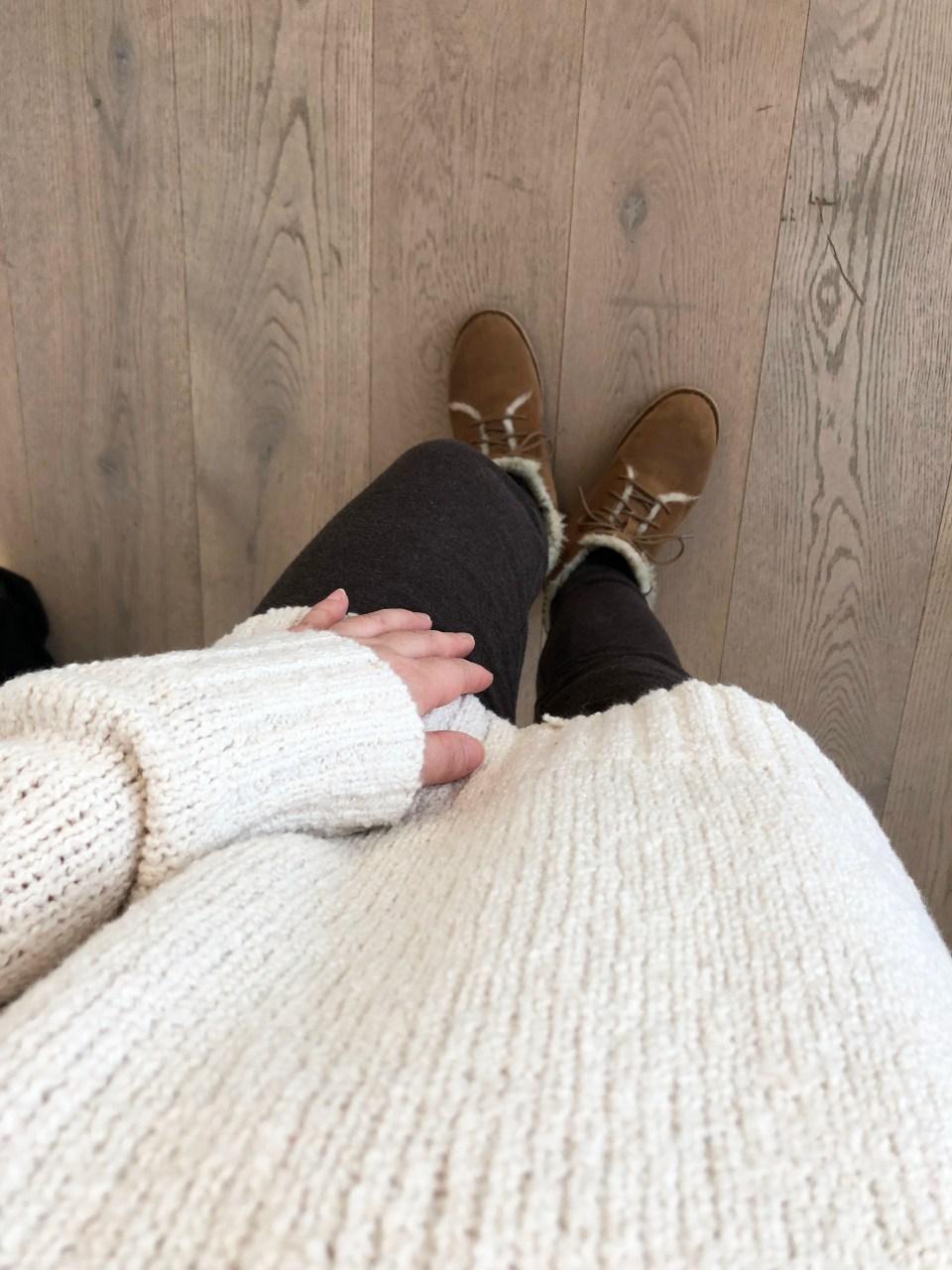 Cream Henley Pullover 11