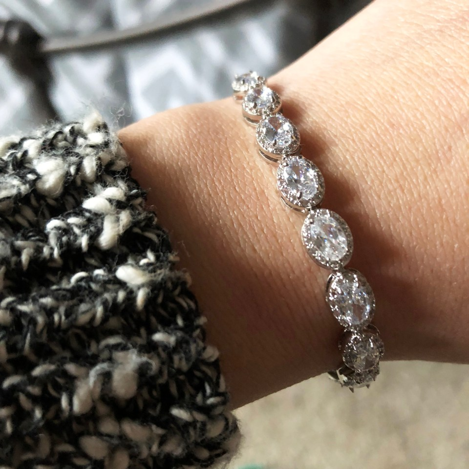 Full Line Collection - Oval Pave CZ Adjustable Bracelet