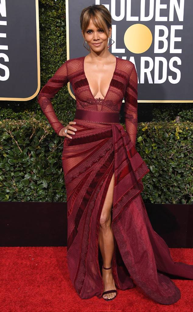 Halle Berry - Golden Globes 2019