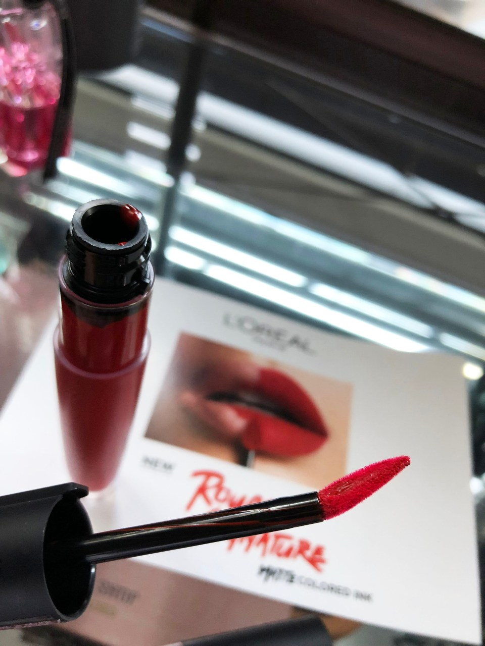 L'Oreal Rouge Signature Matte Colored Ink - I Am Worth It