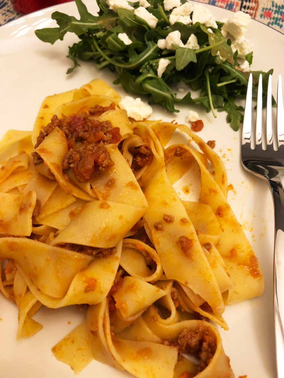 Pappardelle & Bolognese