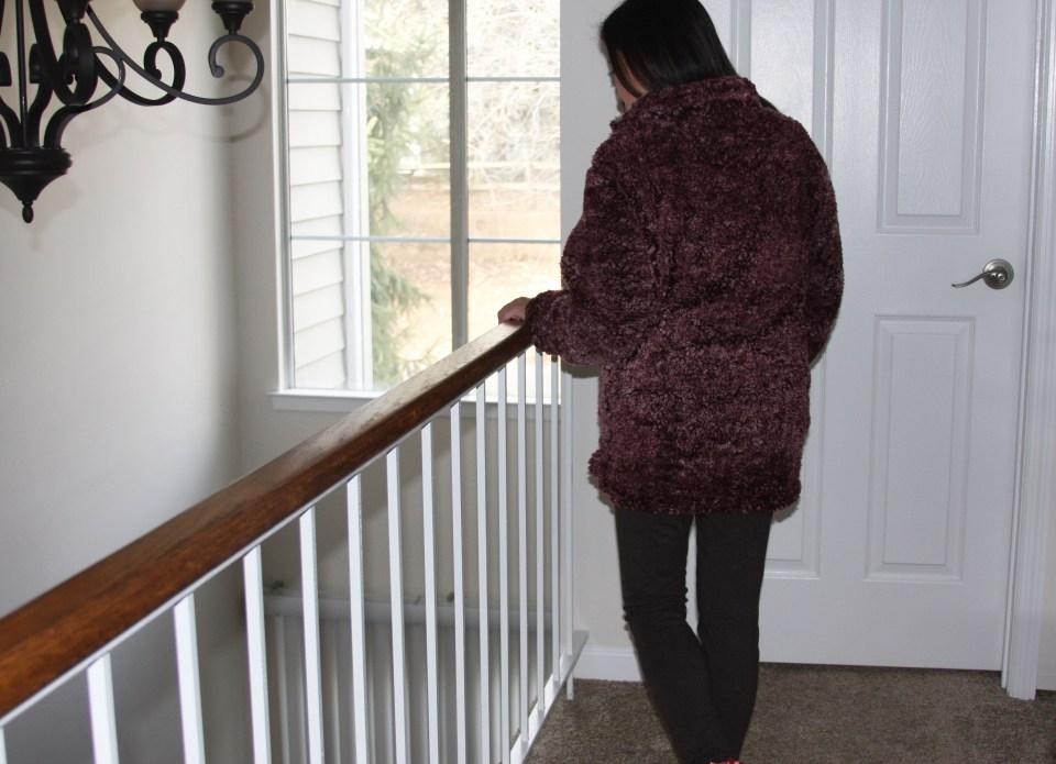 Plum Sherpa Pullover 3