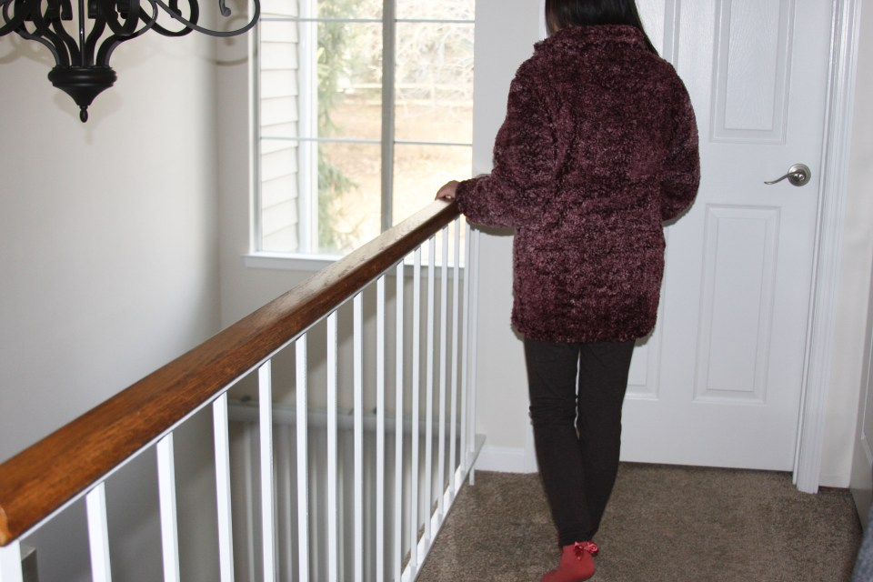 Plum Sherpa Pullover 4