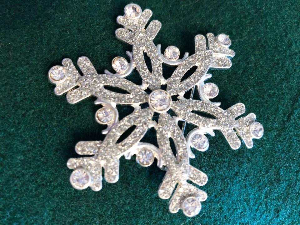 Snowflake Brooch 1