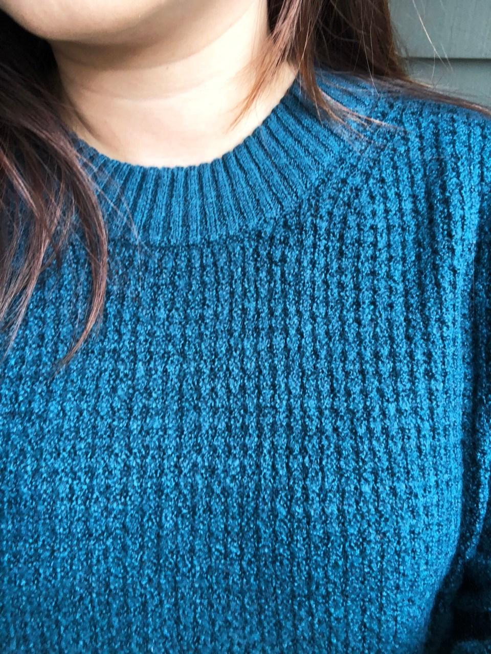 Teal Cloudspun Sweater 10