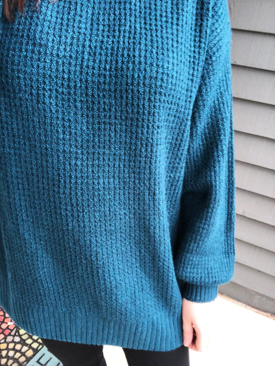 Teal Cloudspun Sweater 11