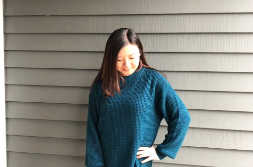Teal Cloudspun Sweater
