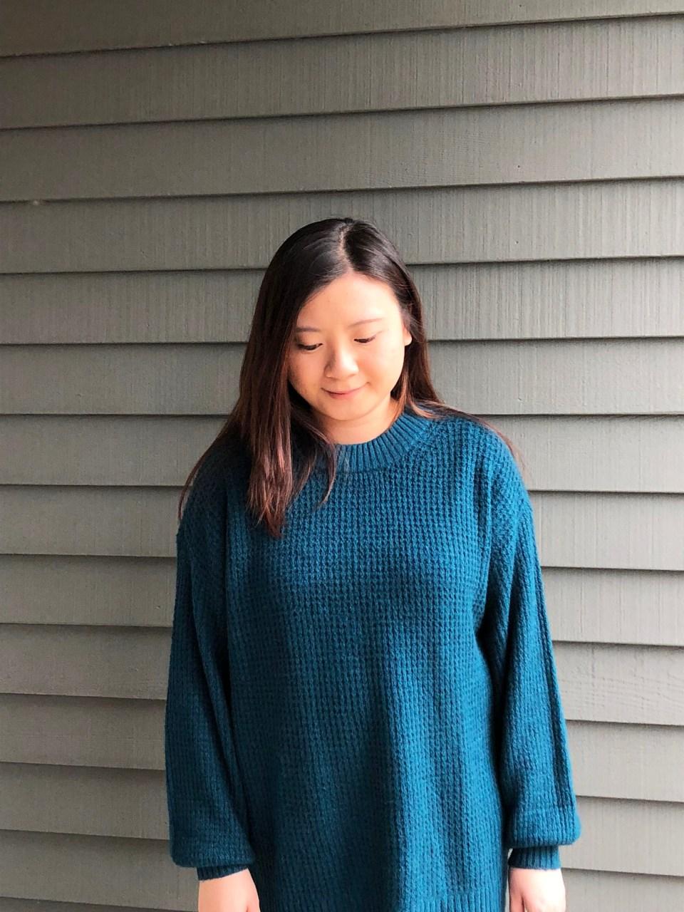 Teal Cloudspun Sweater 7