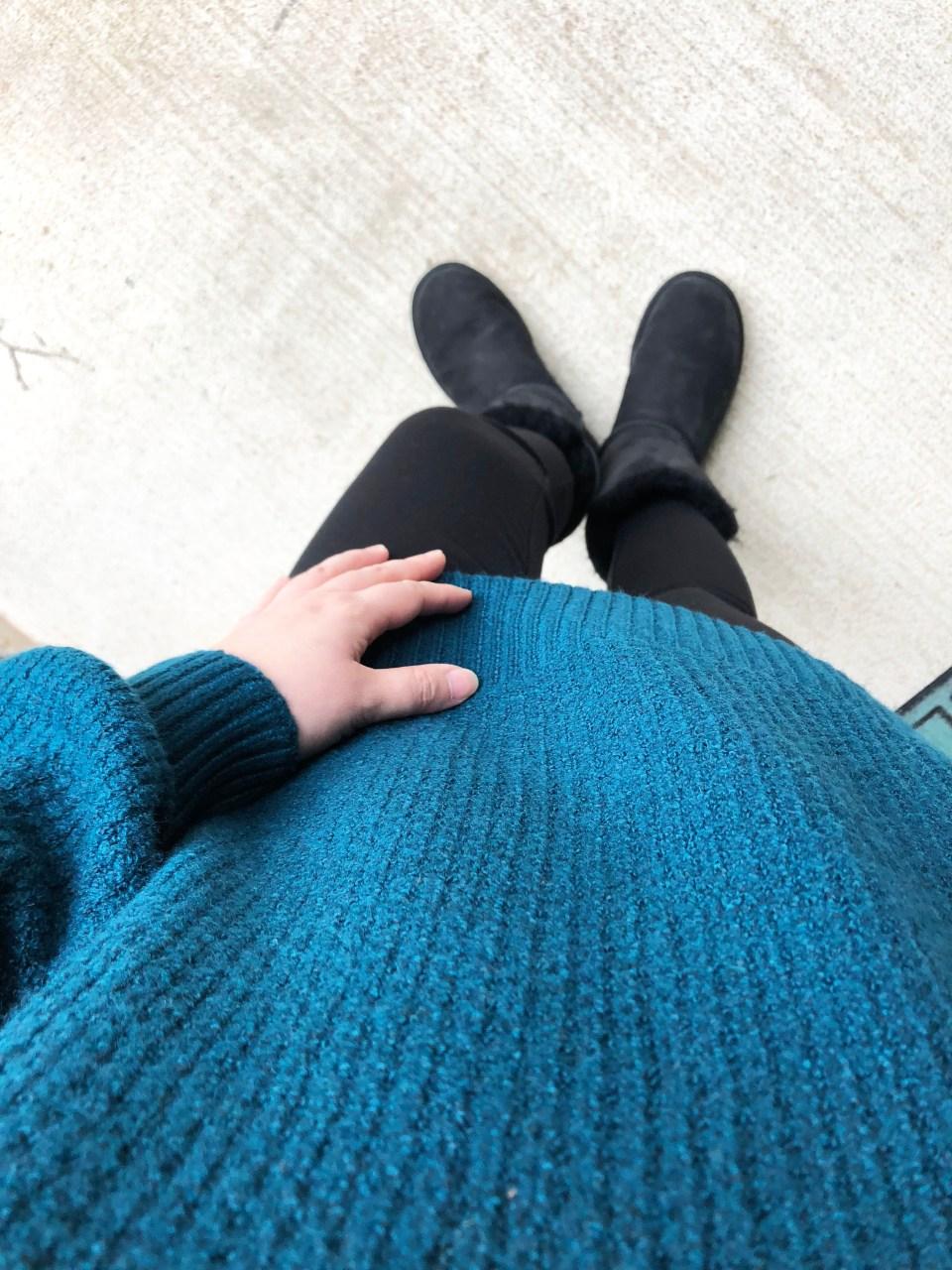 Teal Cloudspun Sweater 9