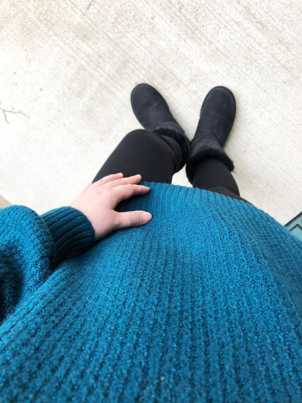 Teal Cloudspun Sweater 9