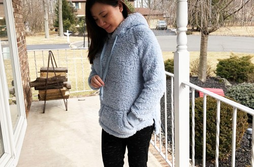 Blue Wubby Pullover