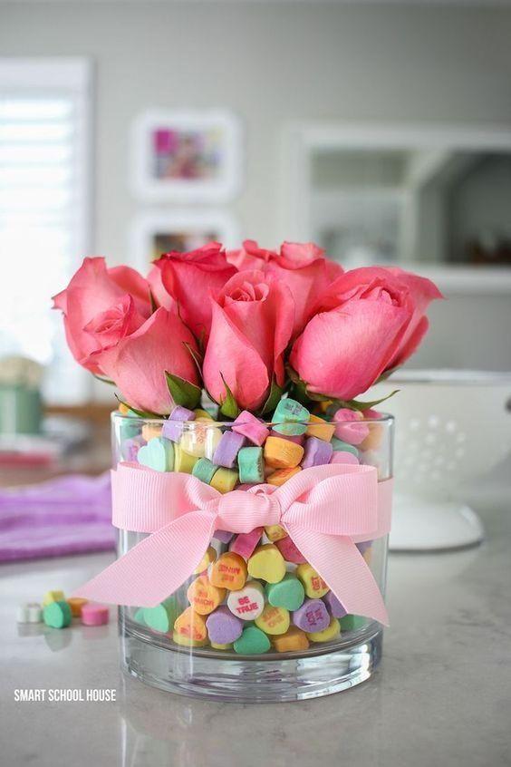 Candy Heart Vase