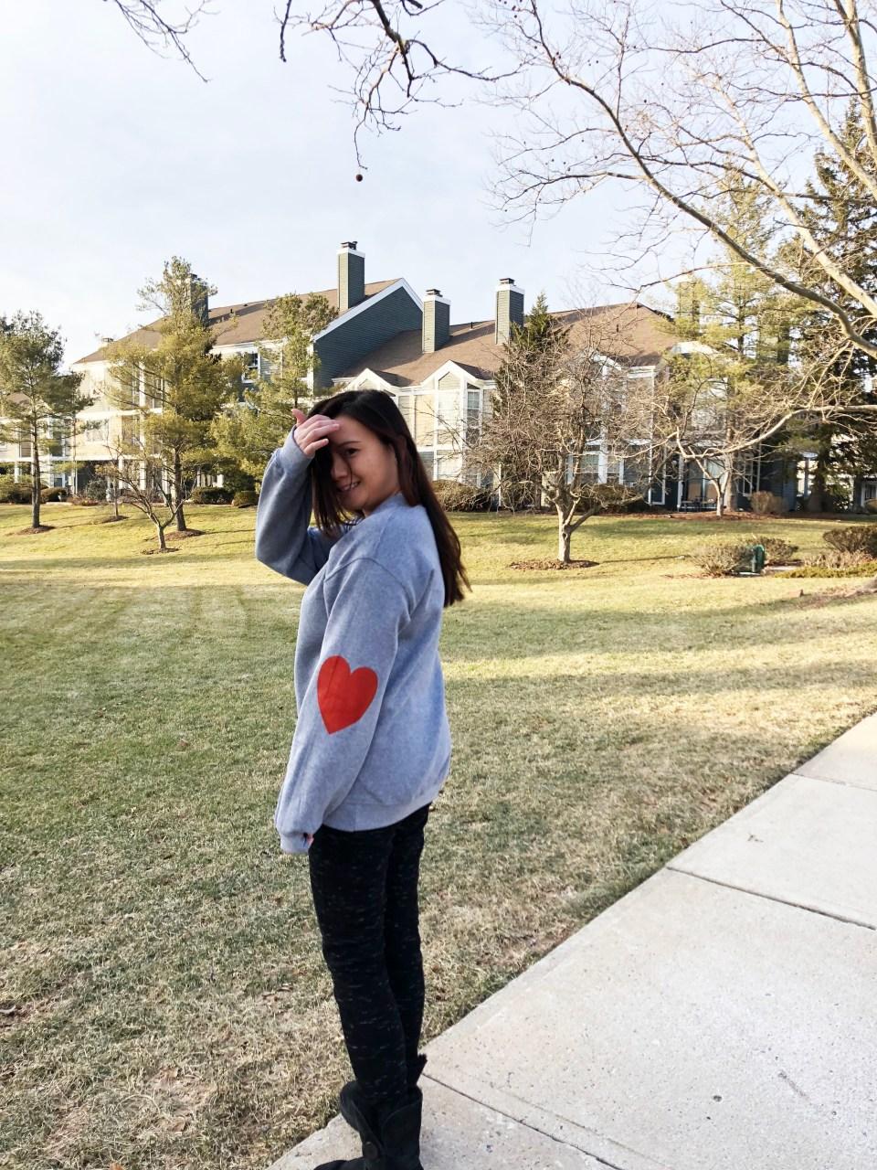Elbow Heart Sweatshirt 6