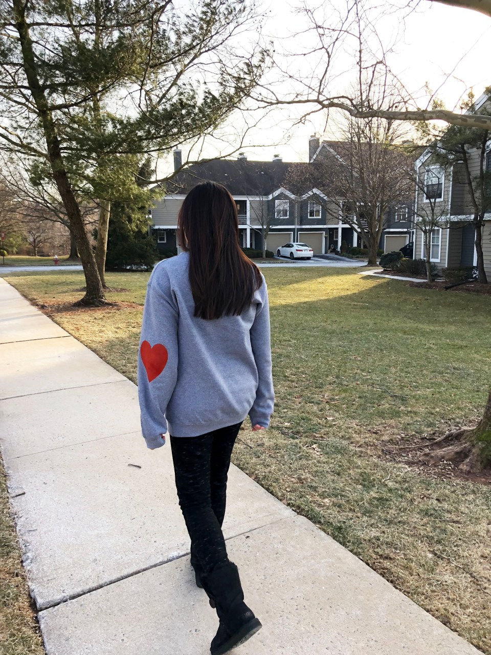 Elbow Heart Sweatshirt 8