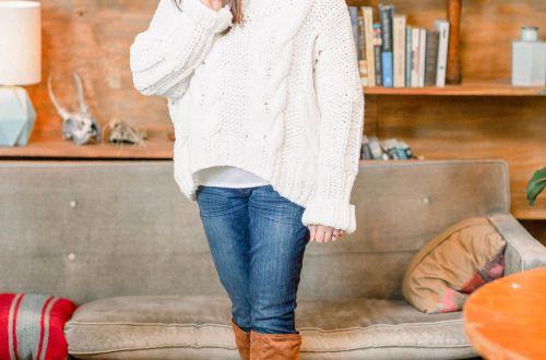 Oversized Knit Turtleneck