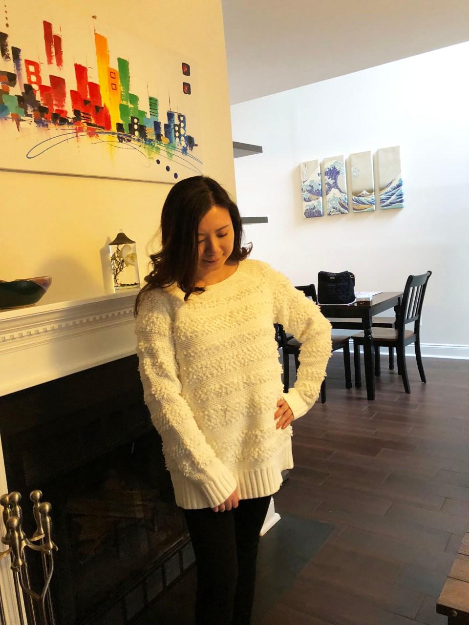 Loopstripe Sweater