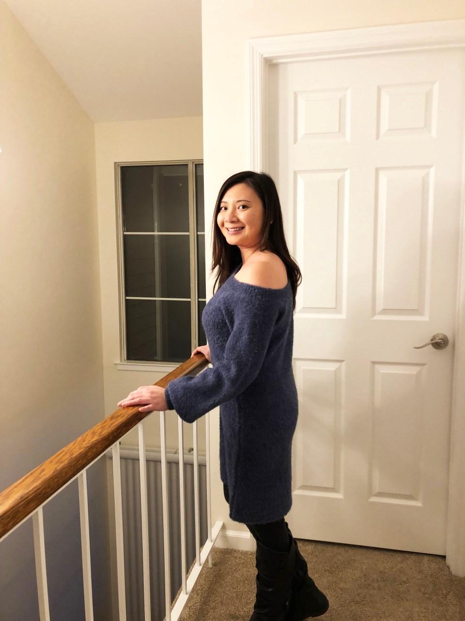 OTS Chenille Dress 3