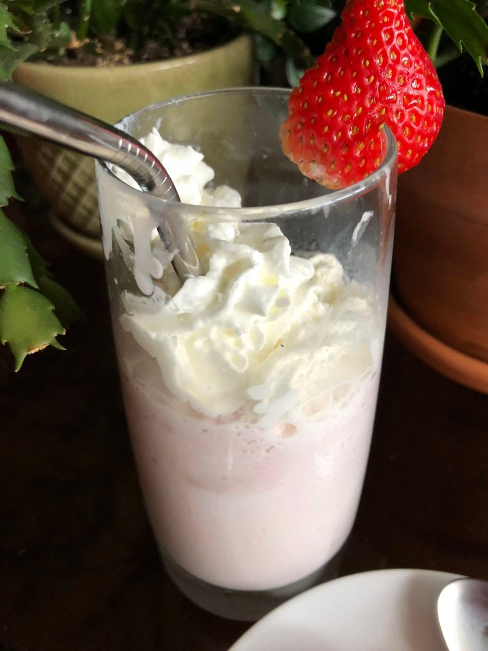 Strawberry Ice Cream Shake 2