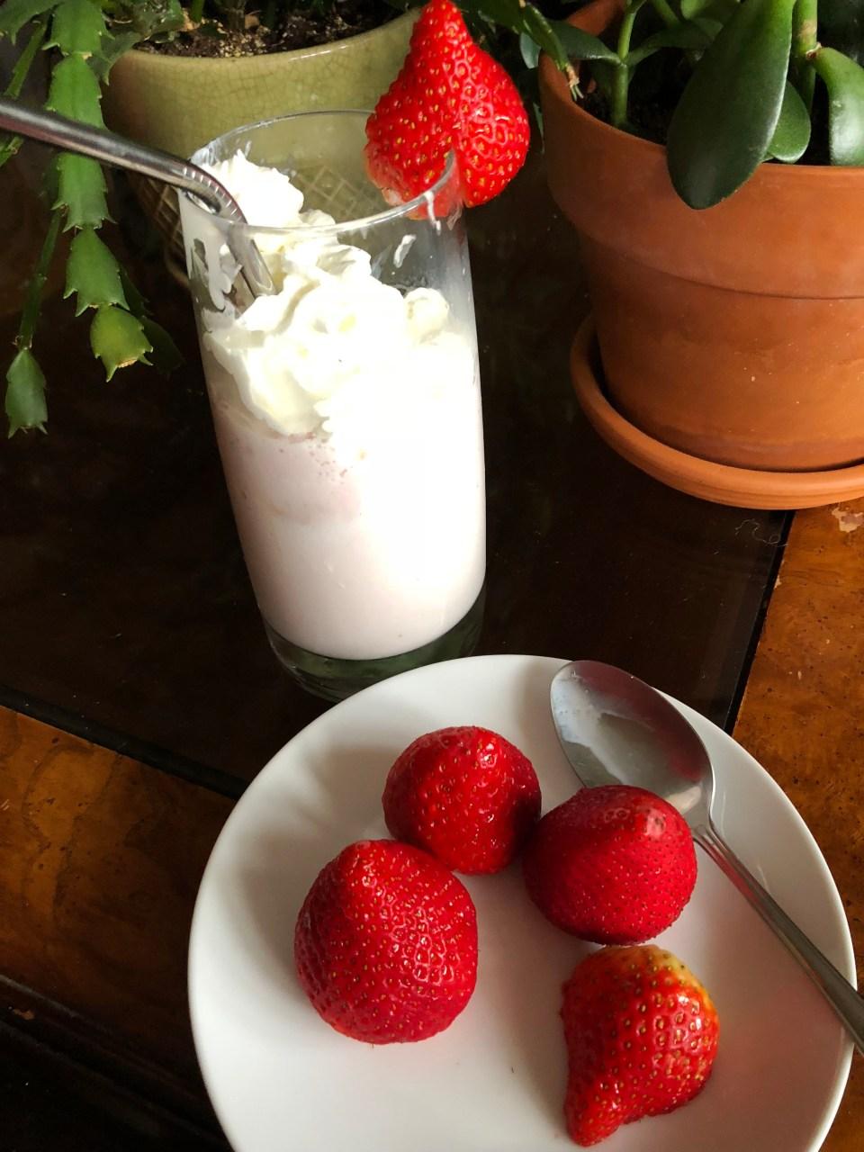 Strawberry Ice Cream Shake