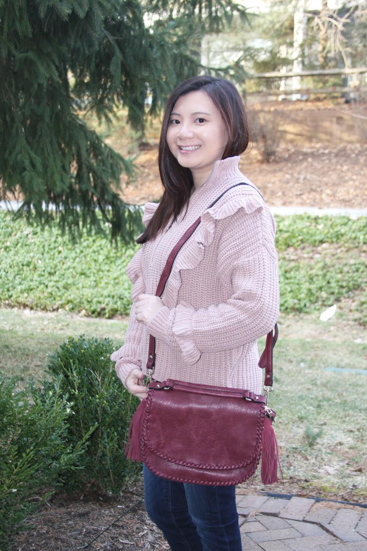 Whip Stitch Saddle Bag 2