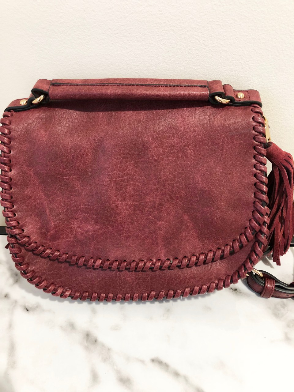 Whip Stitch Saddle Bag 7