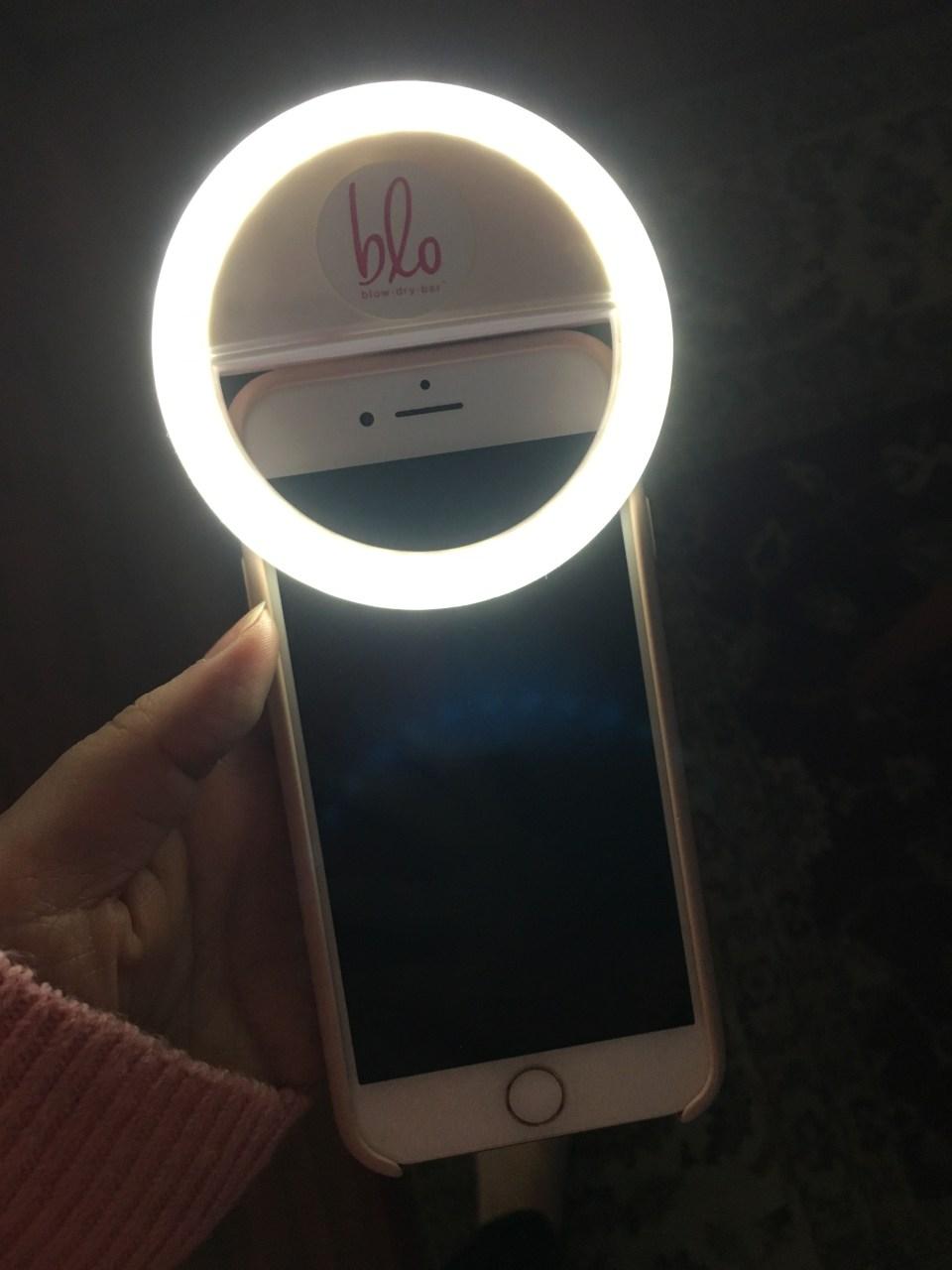 Blo Blow Dry Bar - Franklin Lakes - Selfie Ring Light