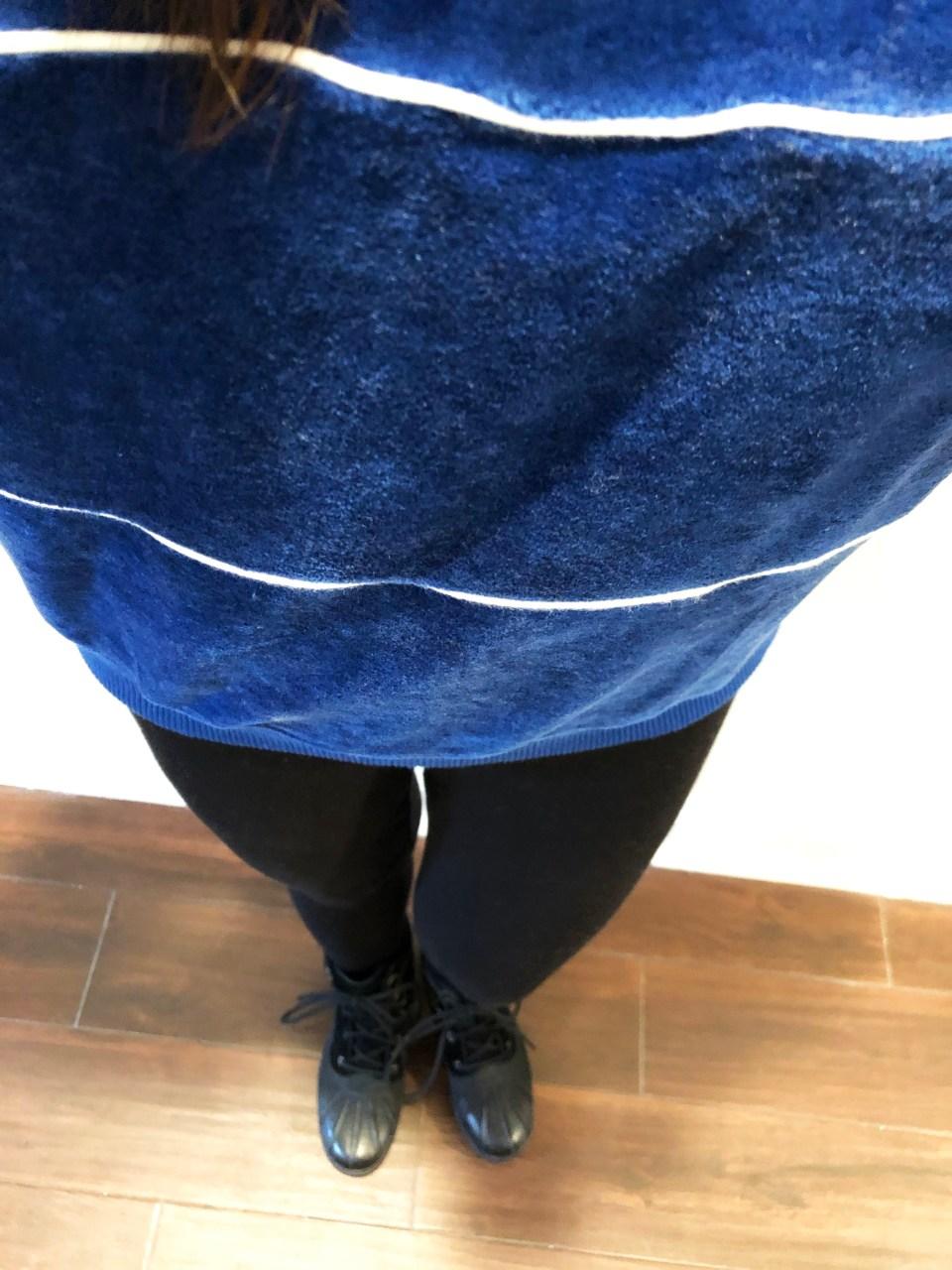 Blue Velour Sweatshirt 6