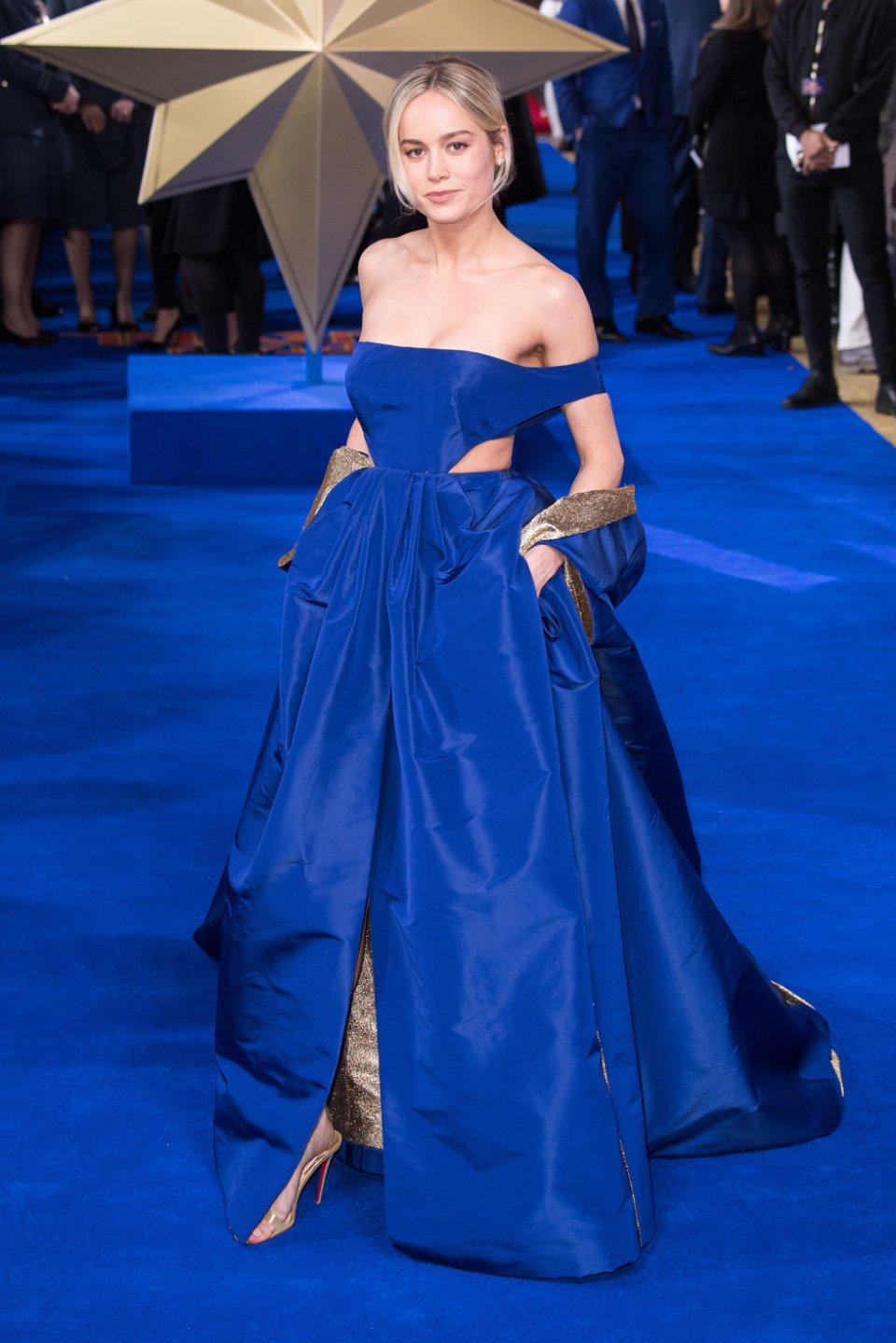 Brie Larson - Captain Marvel London Premiere