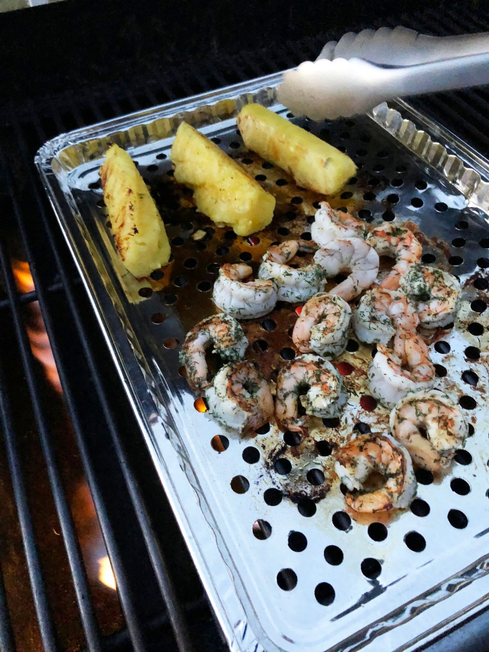Grilled Shrimp & Pineapple 2