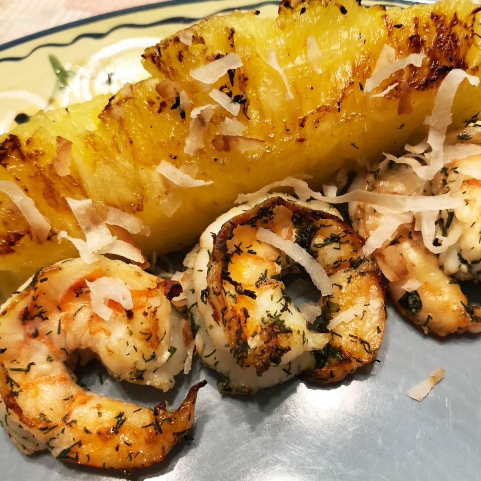 Grilled Shrimp & Pineapple 5