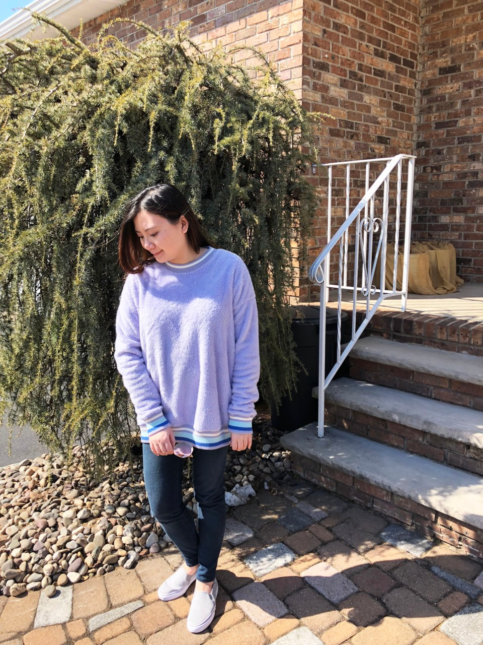 Pastel Orchid Cozy Sweater 7