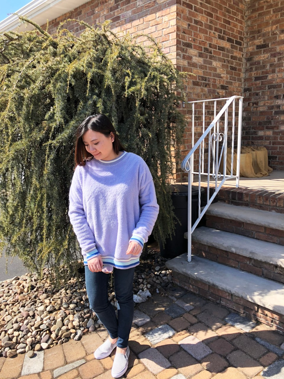 Pastel Orchid Cozy Sweater 8