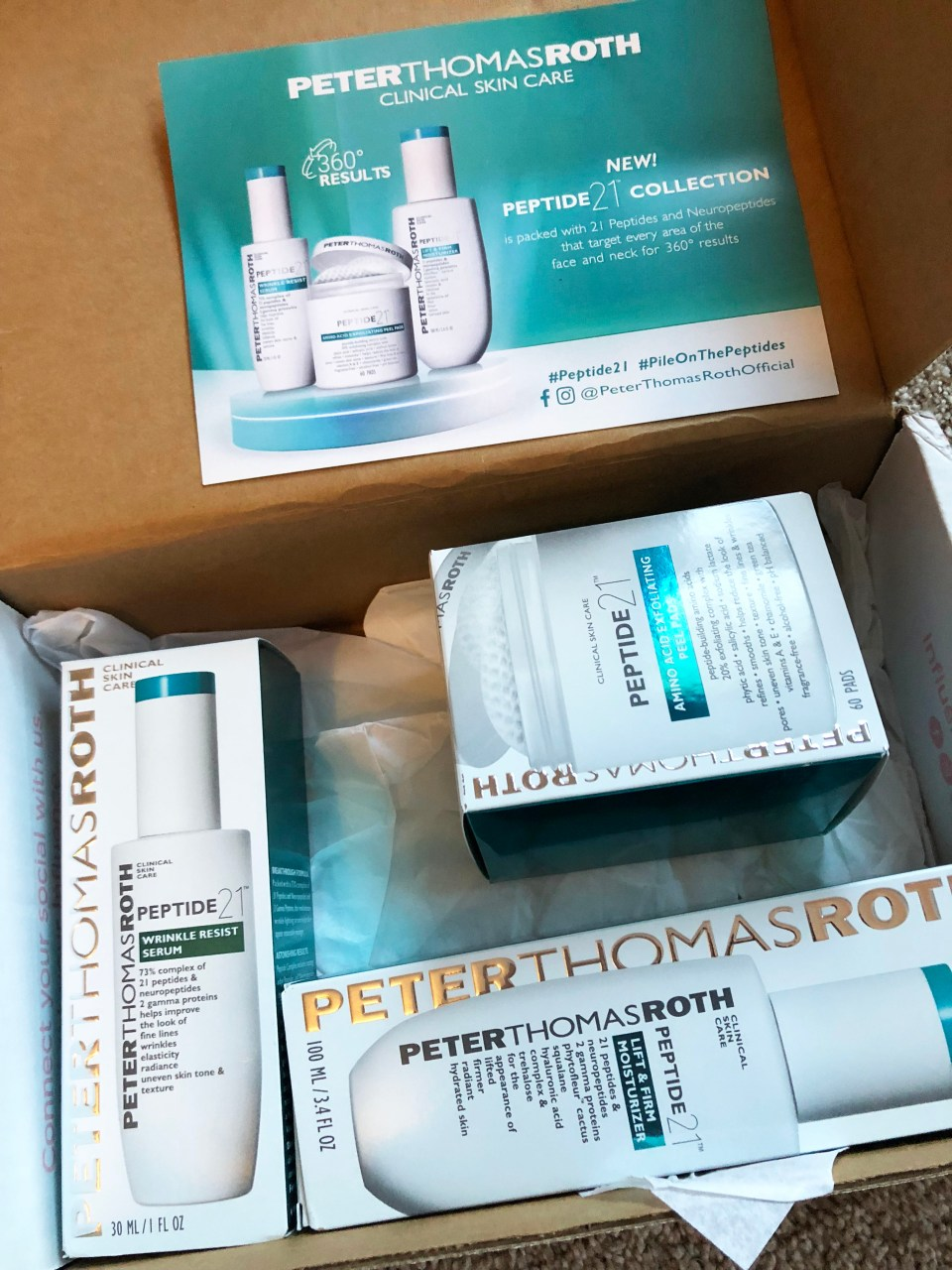 Peter Thomas Roth Peptide 21 Collection