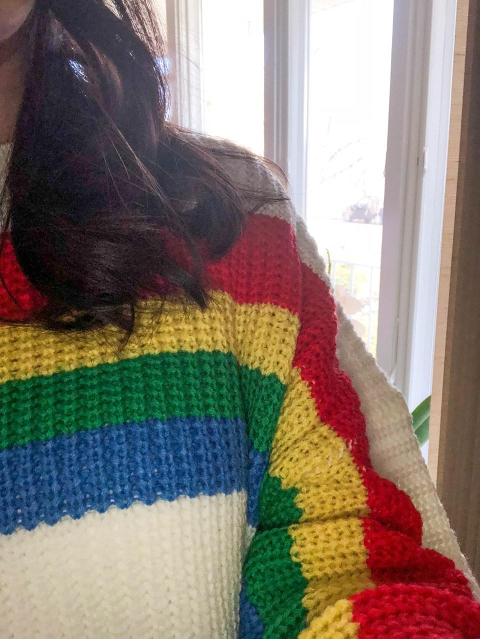 Rainbow Stripe Sweater 11