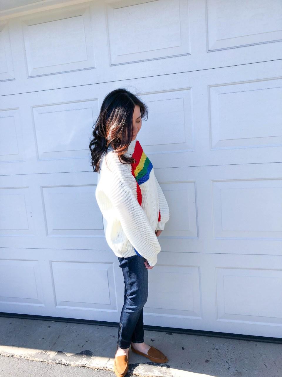 Rainbow Stripe Sweater 3
