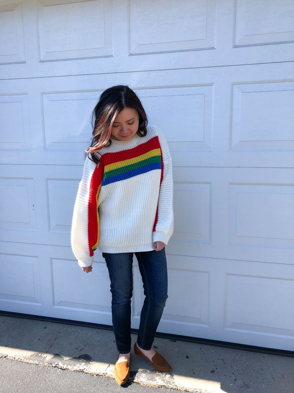 Rainbow Stripe Sweater 4
