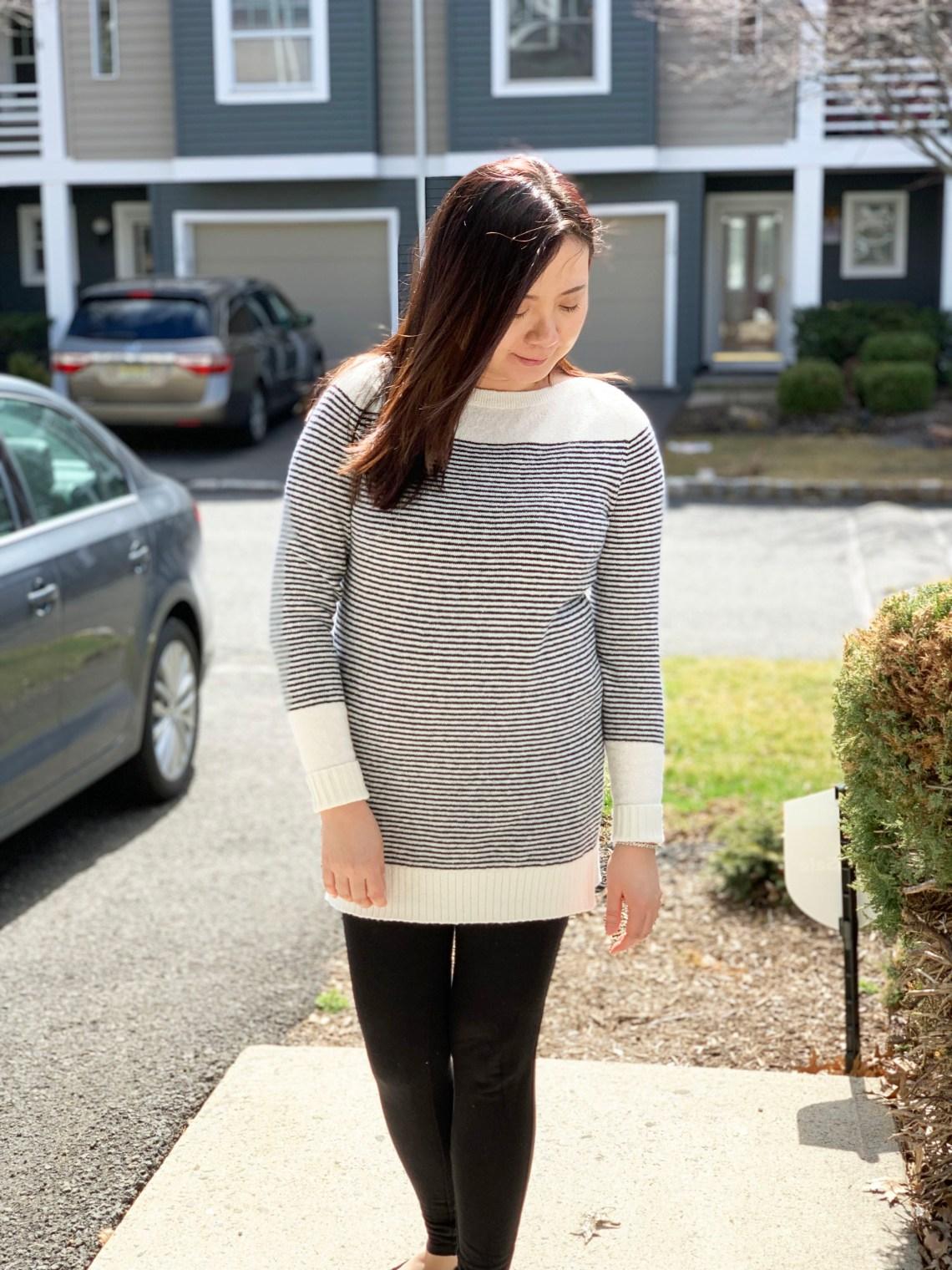 Skinny Stripe Sweater