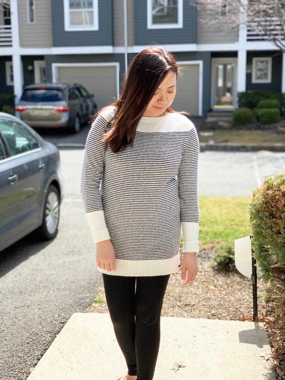 Skinny Stripe Sweater 4