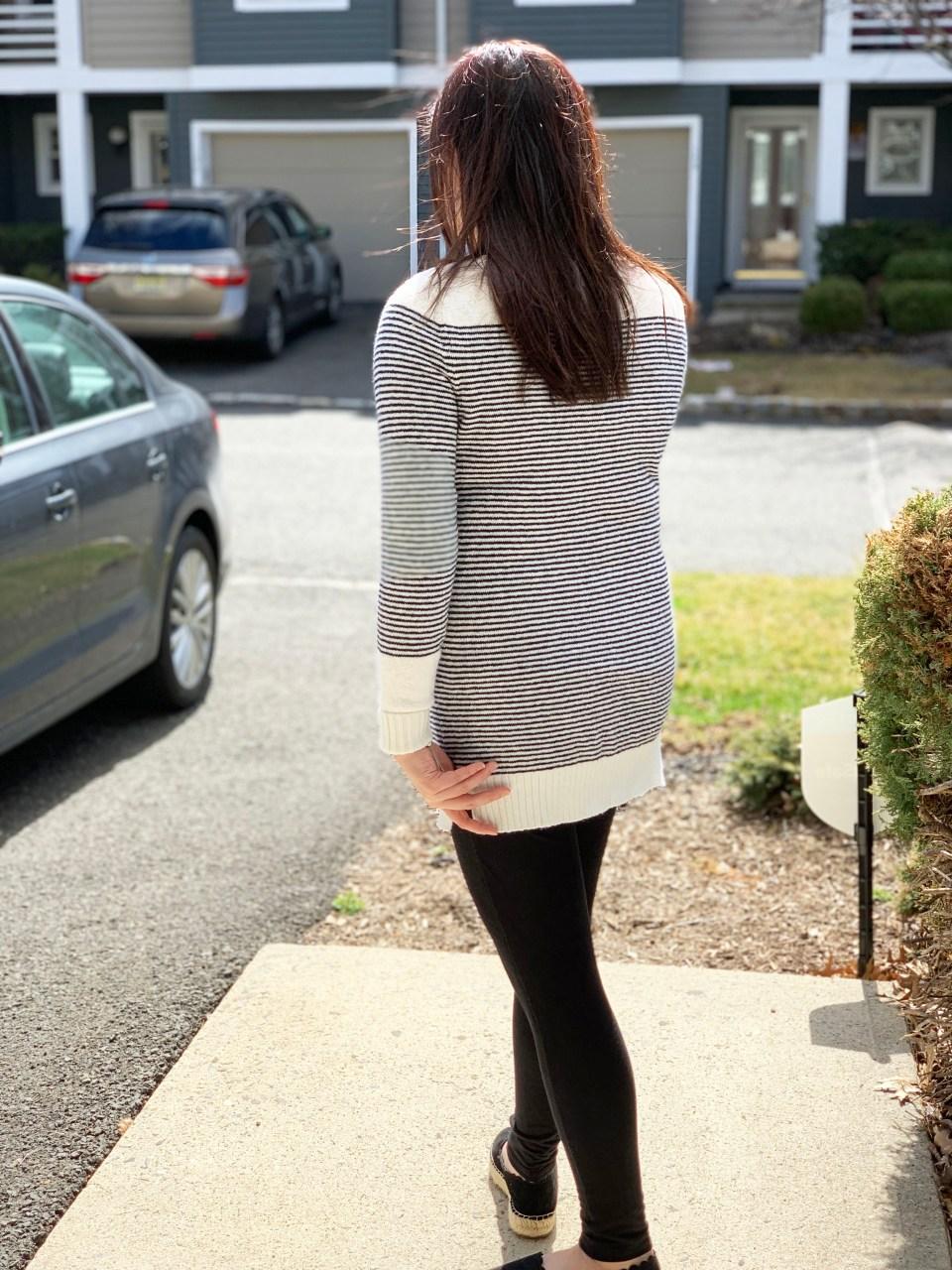 Skinny Stripe Sweater 6