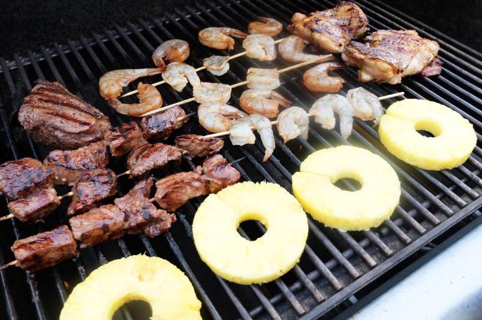 Steak & Shrimp Whiskey Teriyaki 2