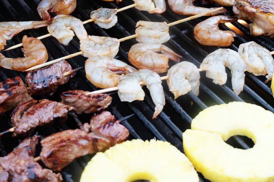 Steak & Shrimp Whiskey Teriyaki 3
