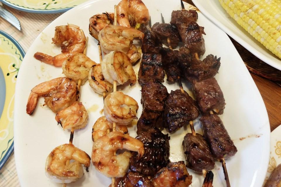 Steak & Shrimp Whiskey Teriyaki 5