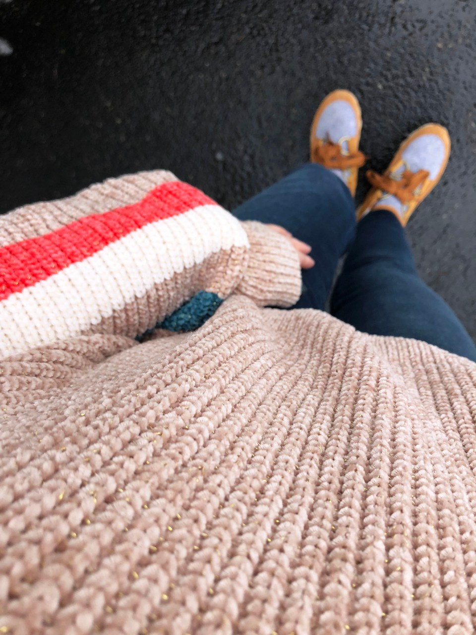Striped Shimmer Sweater 11