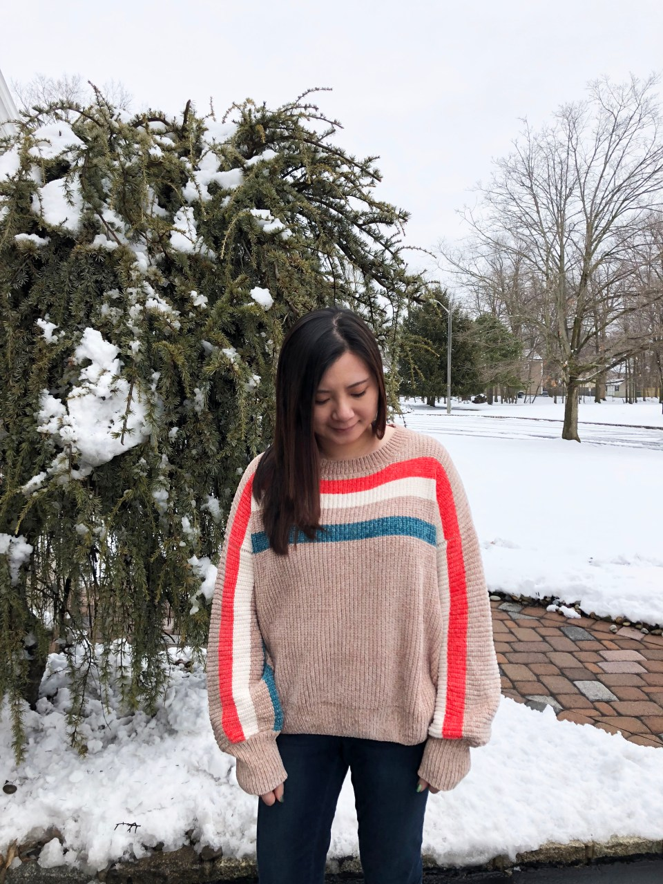 Striped Shimmer Sweater 6